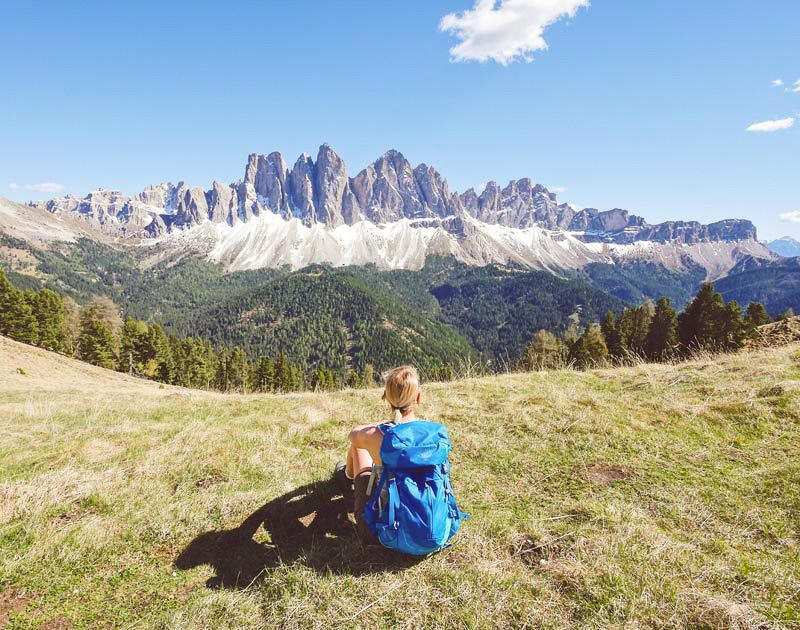 Reiseziele Frühling Dolomiten