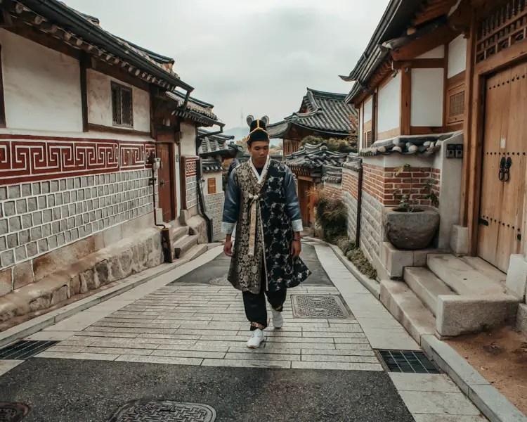 Hanbok – Seoul Reisetipps und Sehenswürdigkeiten in 3 Tagen