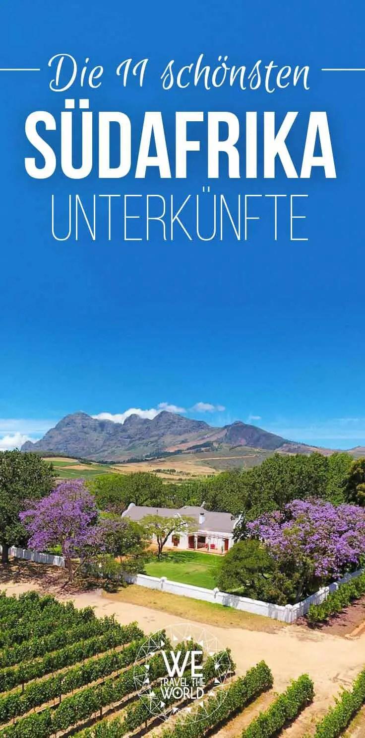 Die schönsten Südafrika Unterkünfte unseres 3wöchigen Südafrika Roadtrips