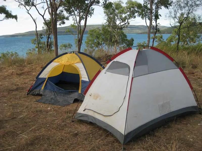 Zelten in Tasmanien