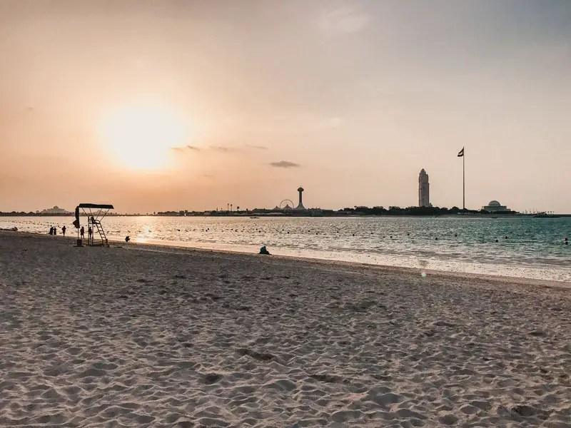 Corniche - Abu Dhabi Reisgids
