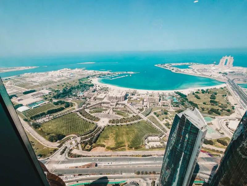 Observatiob-dek bij 300 Etihad-torens - Reisgids Abu Dhabi