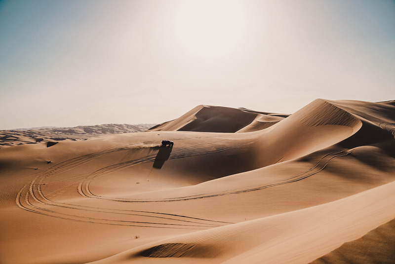 Wüstensafari – Abu Dhabi Reiseführer