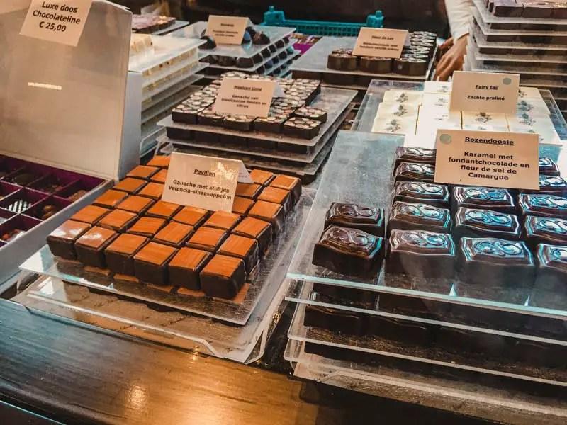 The Chocolate Line – Antwerpen Sehenswürdigkeiten