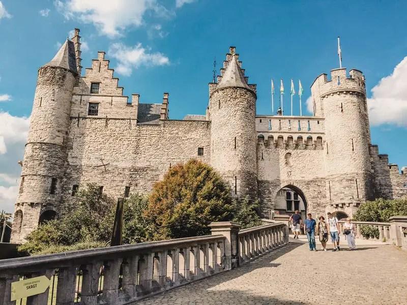 Burg Steen – Antwerpen Sehenswürdigkeiten