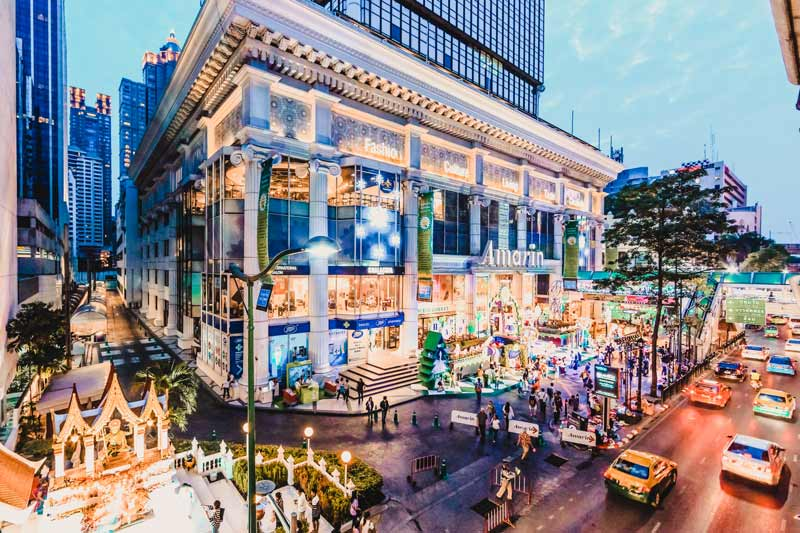 Bangkok Sehenswürdigkeiten Amarin Plaza