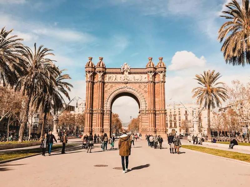 Barcelona Highlights Arc de Triomf Triumphbogen