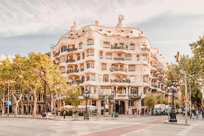 Barcelona Highlights Casa Mila
