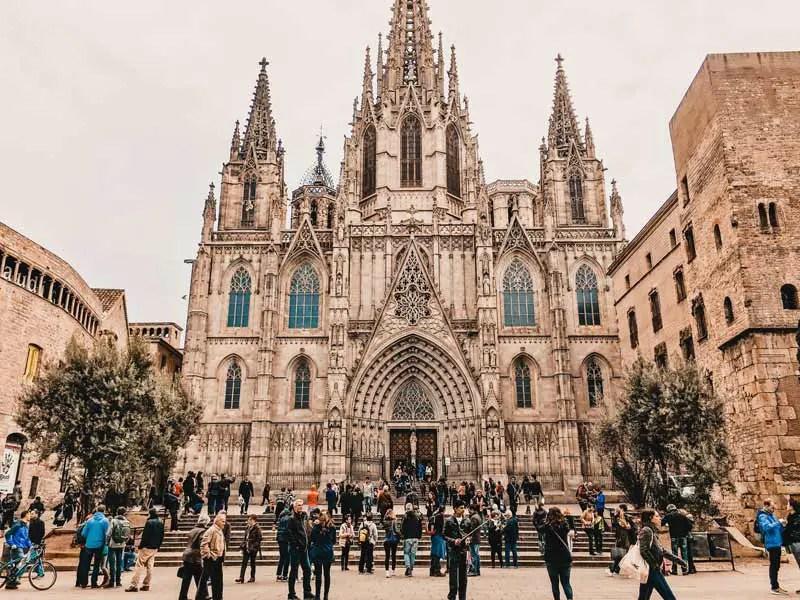 Barcelona Highlights Kathedrale