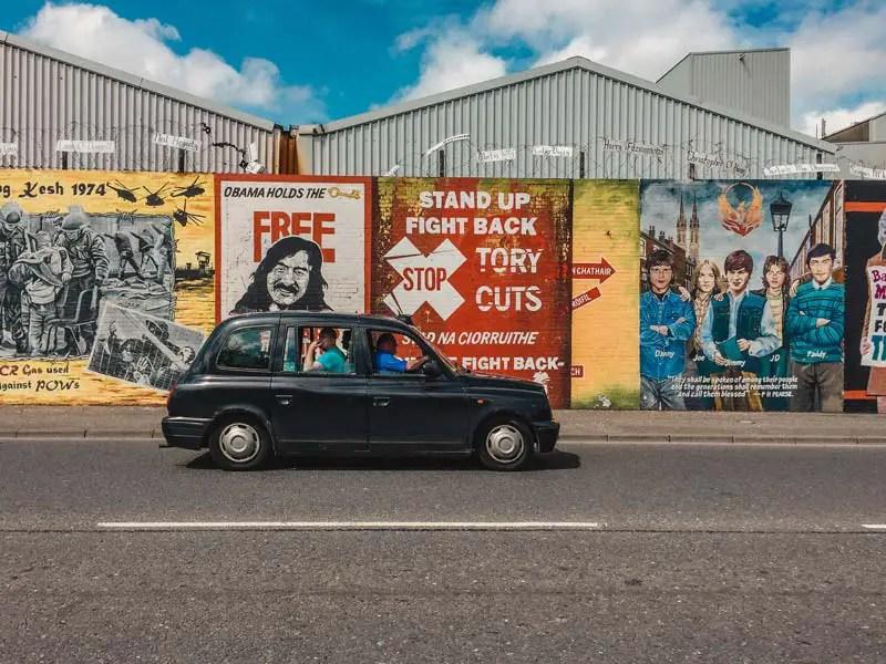 Black Taxi Tour – Belfast Sehenswürdigkeiten