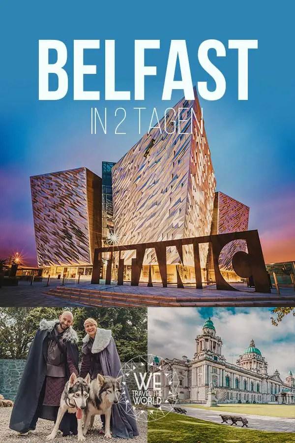 De 11 beste bezienswaardigheden en reistips van Belfast - in 2 dagen #land #noord Ierland #gameofthrones #reis # citytrip