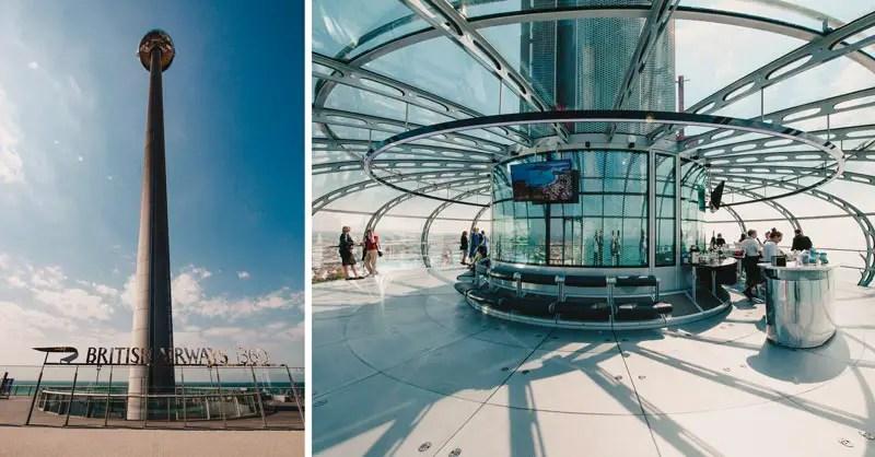 Brighton Sehenswürdigkeiten British Airways i360