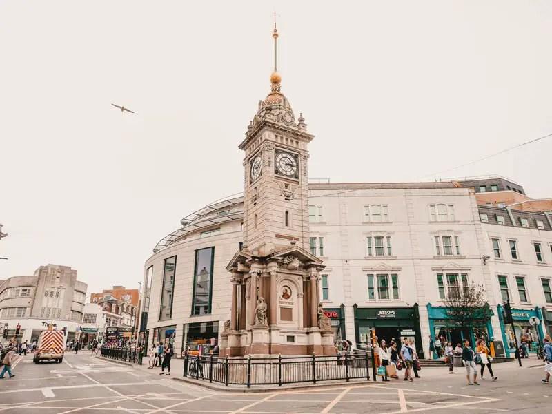Brighton Sehenswürdigkeiten Clock Tower