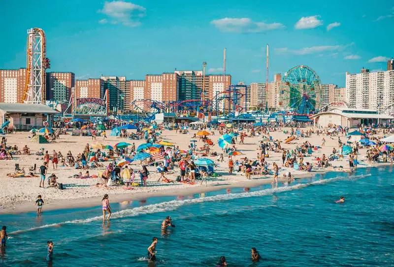 Brooklyn Coney Island Beach
