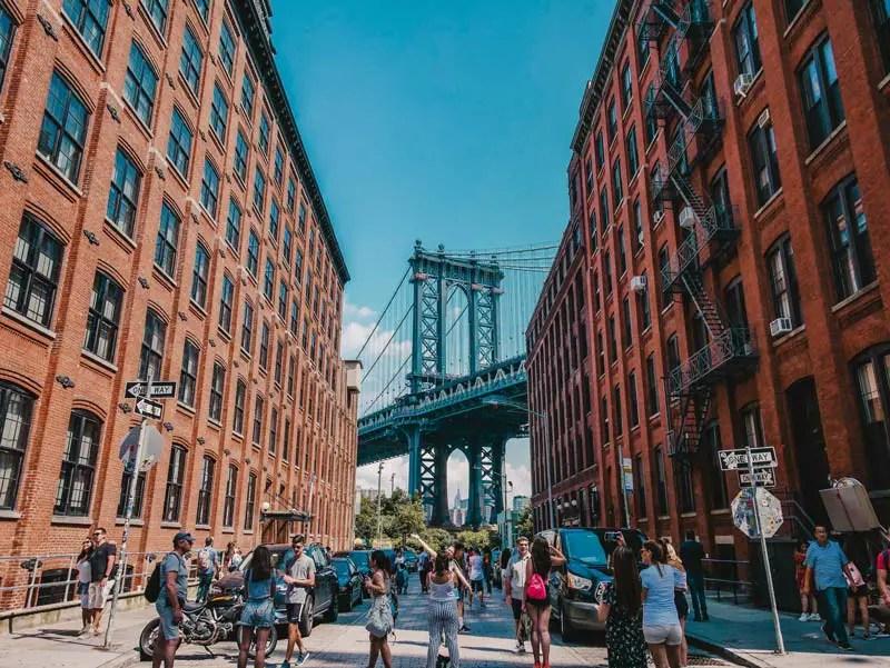 Dumbo Instagram Spot - Attracties in Brooklyn