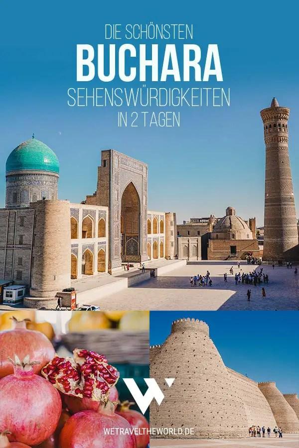 Buchara: Die 23 besten Buchara Sehenswürdigkeiten – in 2 Tagen #usbekistan #rundreise #bukhara #buxoro