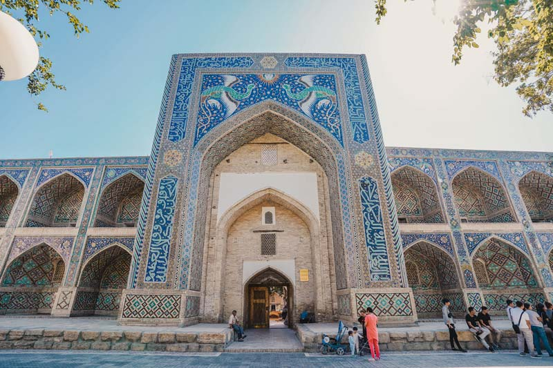 Bukhara Monumenten Ko'kaldosh Medresse