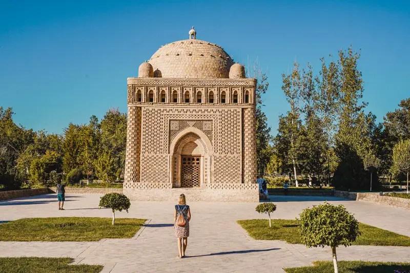 Bukhara Sightseeing: das Samaniden Mausoleum