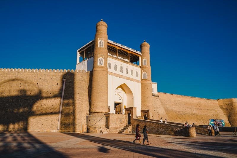 Bukhara Attracties: Ark Fortress