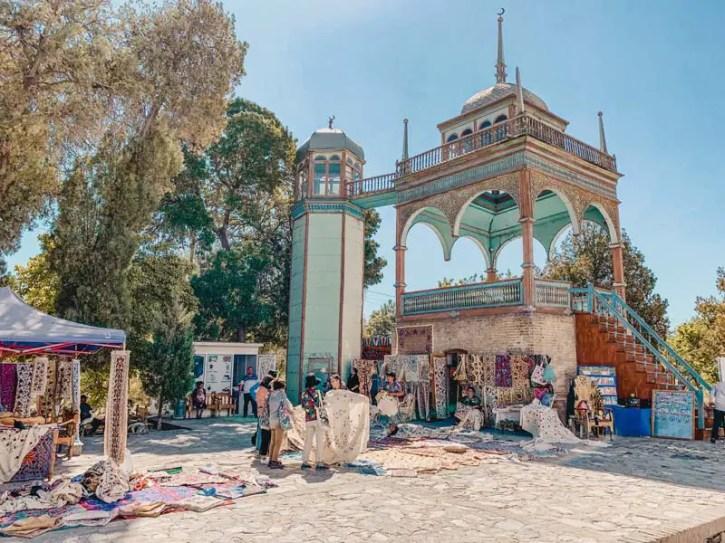 Buchara Sehenswürdigkeiten: Der Palast der letzten Emire