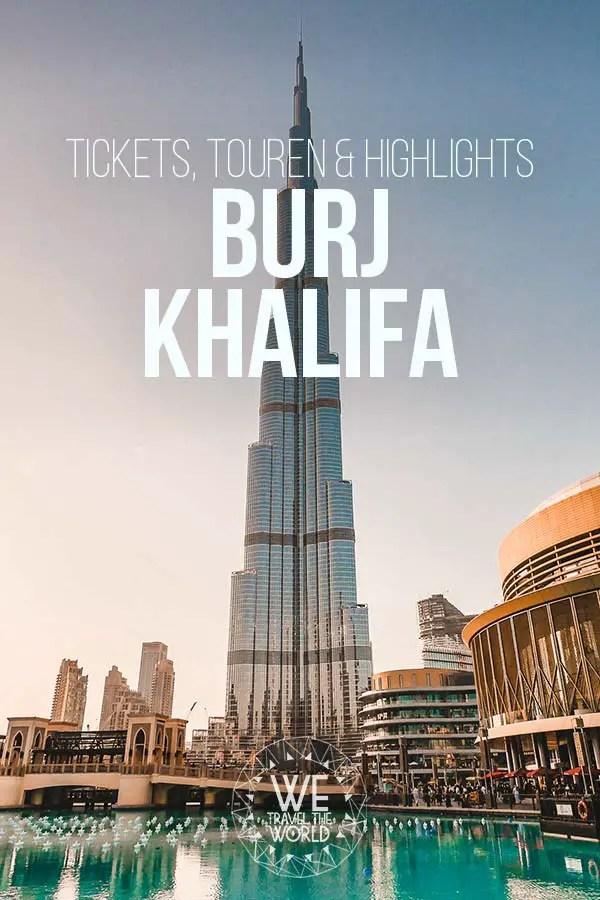 Burj Khalifa Tickets, Touren und Infos #dubai #inspiration #reiseziele