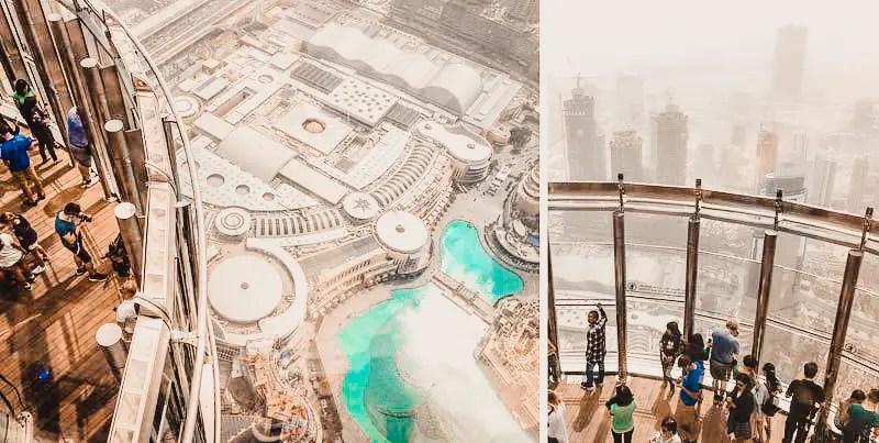 Dubai Aktivitäten Ausflüge Burj Khalifa