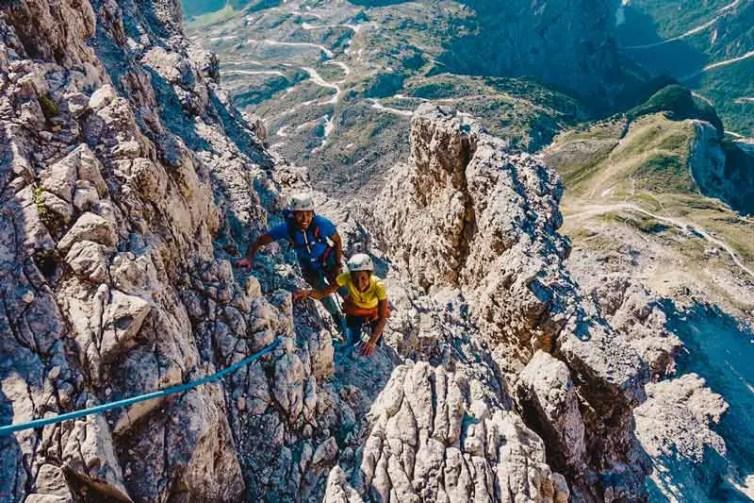 drei-zinnen_dolomiten_wandern_Drei-Zinnen-Klettern--Große-Zinne-–-Normalweg_03