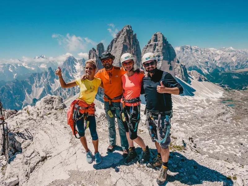 Drei Zinnen Klettersteig Paternkofel Innerkoflersteig