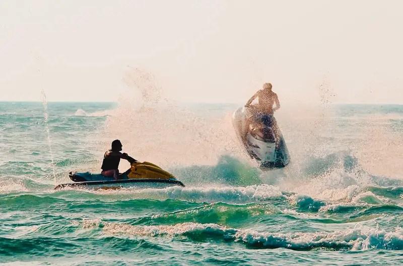 Dubai Aktivitäten Ausflüge Jetski
