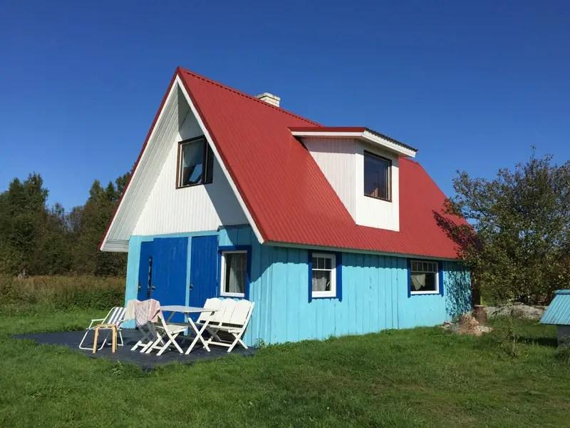 Estland Unterkünfte: Ferienhaus Insel Prangli
