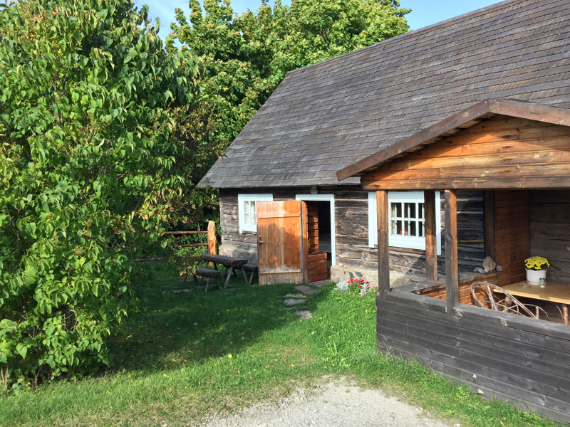 Estland Unterkunft:Ferienhausin Altja