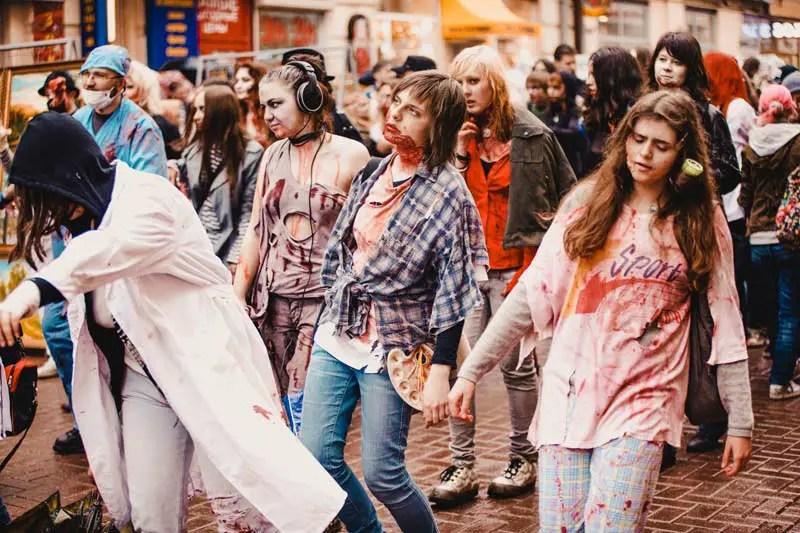 Flughafen BER Berlin Zombies