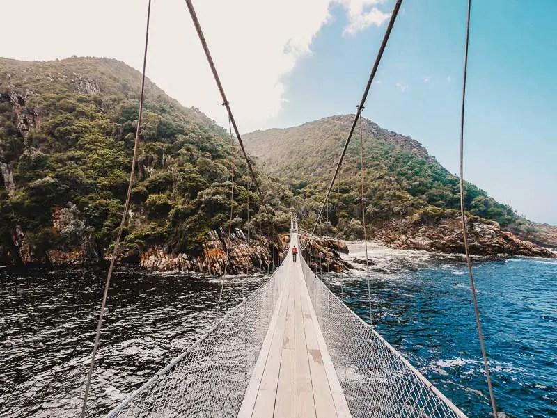 Tsitsikamma Brücke – Garden Route Highlights, Sehenswürdigkeiten & Reisetipps