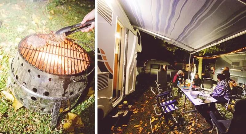 Camping Grillabend Koblenz
