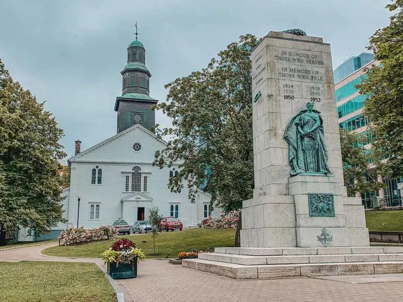 St Pauls Church – Halifax Sehenswürdigkeiten