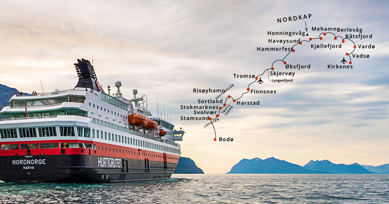 ms nordnorge route