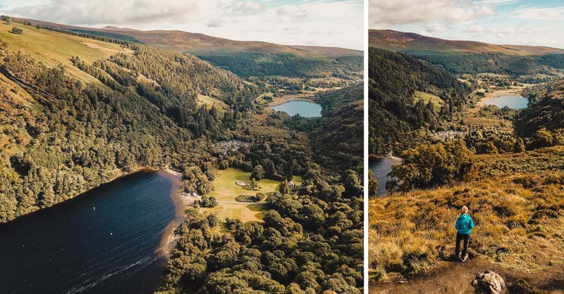 Wicklow Mountains, Glendalough, Upper Lake – Irlands Südosten Sehenswürdigkeiten