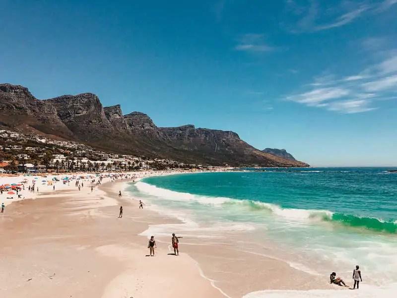 Kapstadt Sehenswürdigkeiten Strand