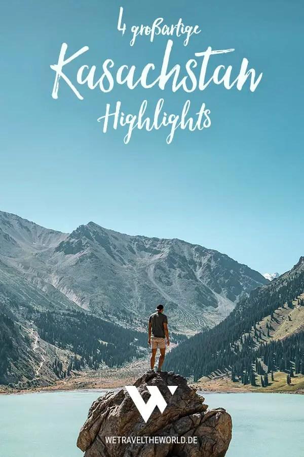 Kasachstan Highlights – Die 4 schönsten Kasachstan Landschaften #rundreise #reisetipps #inspiration #roadtrip