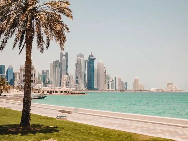 Katar in 3 Tagen – Katar Sehenswürdigkeiten – Corniche Doha
