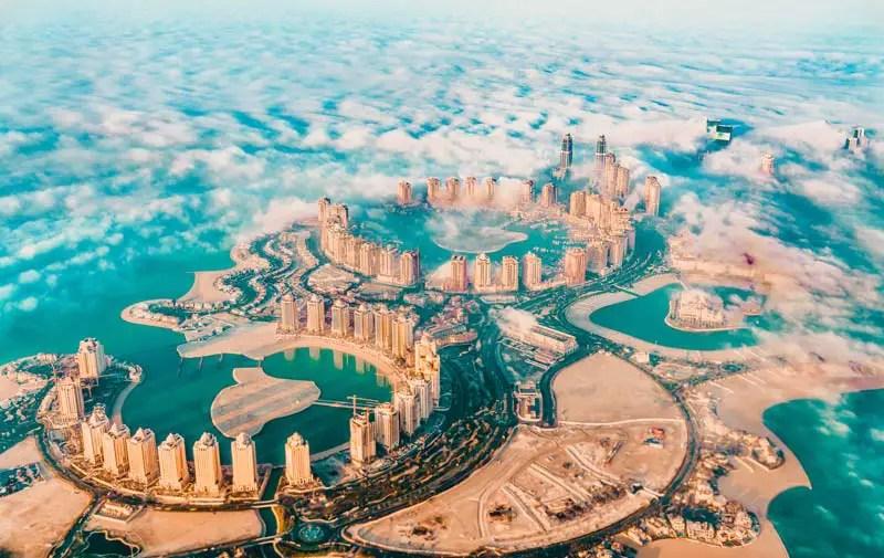 Katar in 3 Tagen – Katar Sehenswürdigkeiten – The Pearl