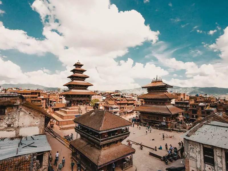 Kathamandu Sehenswürdigkeiten Bhaktapur