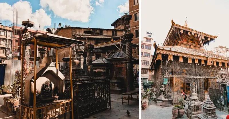 Kathamandu Sehenswürdigkeiten Seto Machhendranath Tempel