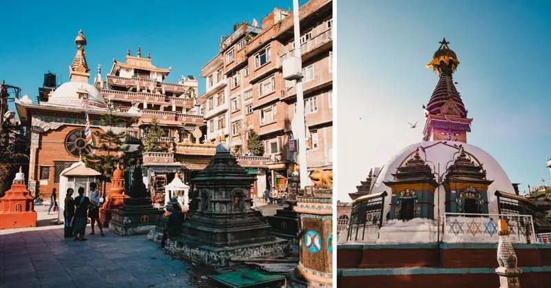Kathamandu Sehenswürdigkeiten Kaathe Swayambhu Shee: Gha: Chaitya