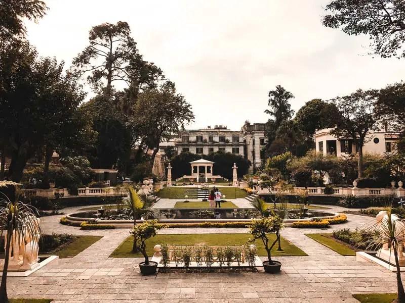 Kathamandu Sehenswürdigkeiten Garden of Dreams