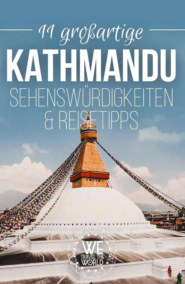 Nepal Reise: Alle Kathmandu Sehenswürdigkeiten und Reisetipps. Mit Kathmandu Hotels und Unterkünften