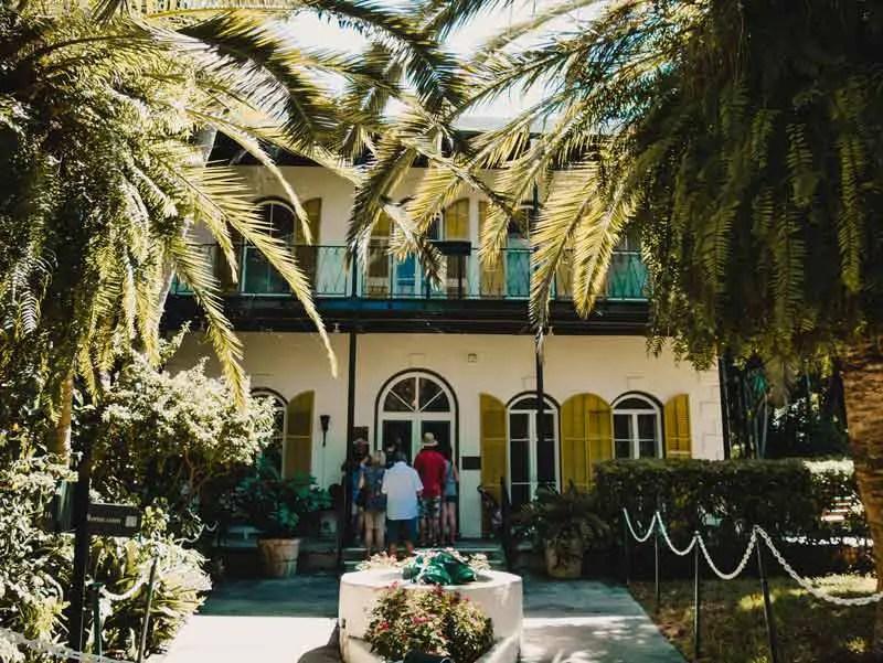 Key West Sehenswürdigkeiten Ernest Hemingway Haus