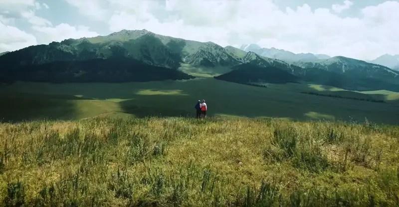 Kirgistan Drohnenvideo Jolgolot Karakol