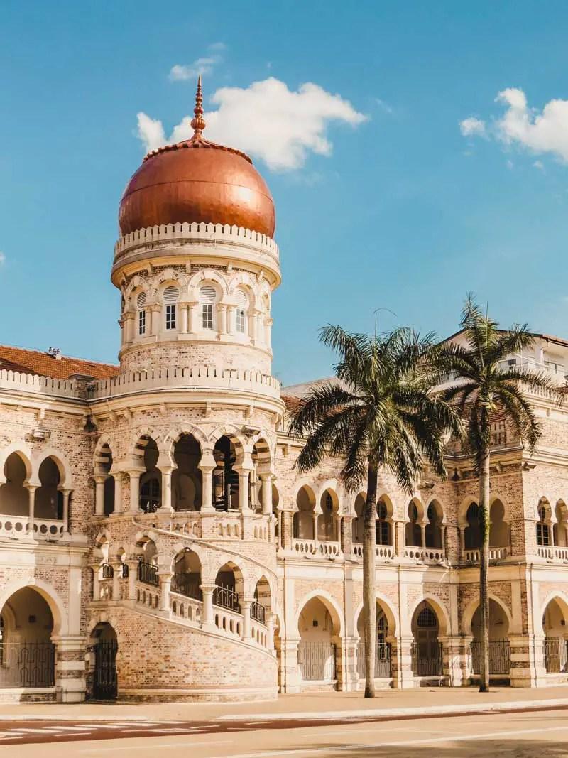 Sultan Abdul Samad Building – Kuala Lumpur Sehenswürdigkeiten und Highlights in 2 Tagen