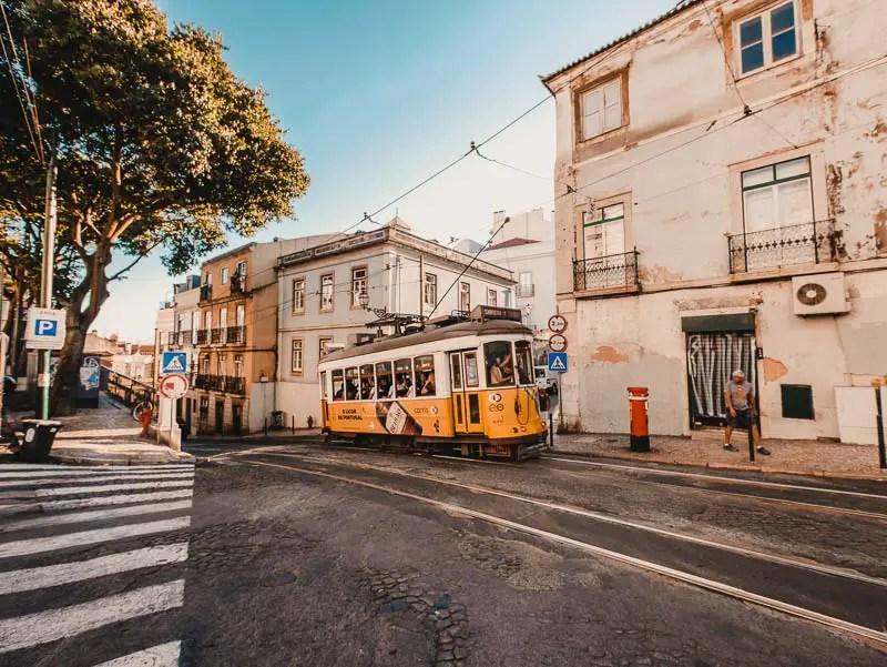 Tram 28 – Lissabon Sehenswürdigkeiten